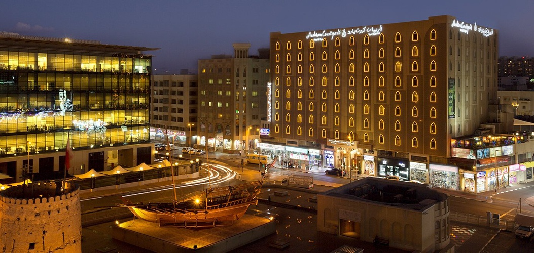 واجهة فندق اريبيان كورتيارد فندق وسبا بر دبي